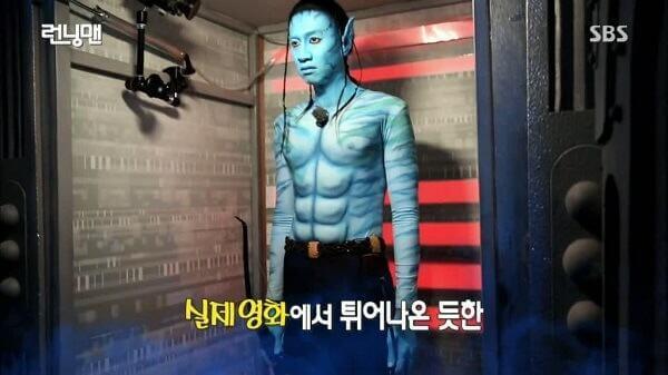 Lee Kwang Soo với tạo hình độc đáo – Kwang Avatar - Danh sách khách mời Running man 2017 2018 mới nhất