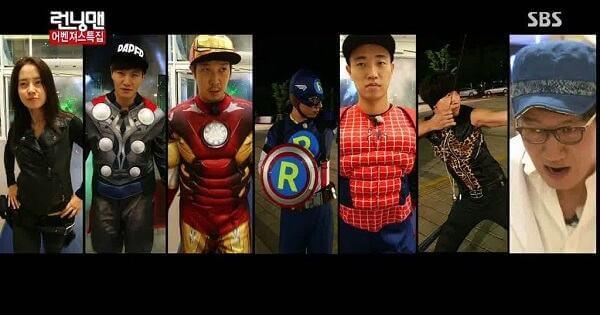 Avengers (Tập 150) - Danh sách khách mời Running man 2017 2018 mới nhất