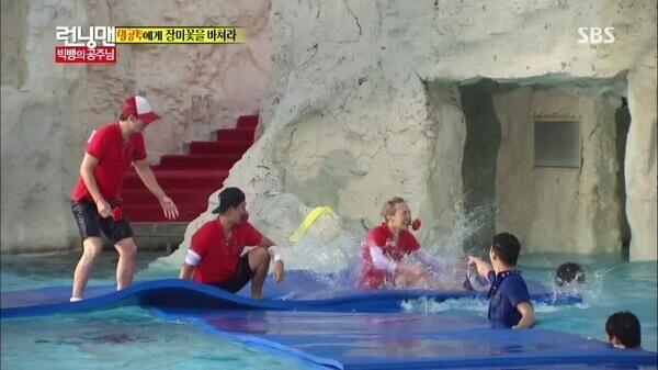 Những tập Running man chơi dưới nước thú vị nhất