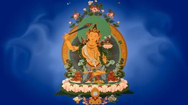 Bồ tát Văn Thù Sư Lợi nói cho đủ theo âm Hán là Đại trí Văn Thù Sư Lợi Bồ Tát Ma Ha Tát.