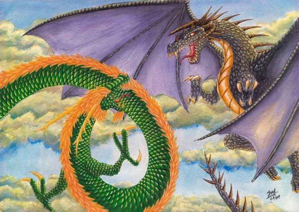 Ý nghĩa và sự khác nhau giữa Rồng phương Đông và Rồng phương Tây