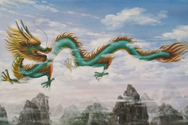Mơ thấy hình ảnh hai con Rồng bay vào nhà