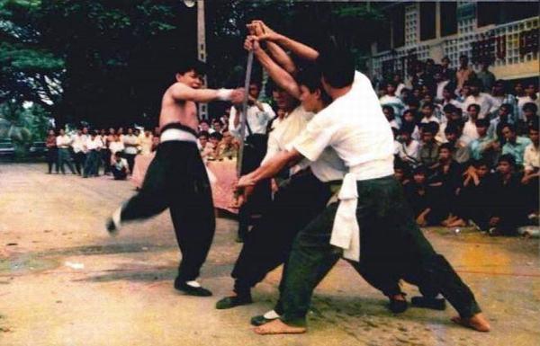 Chưởng môn Nam Huỳnh Đạo Huỳnh Tuấn Kiệt thời còn trẻ học rất nhiều môn phái.