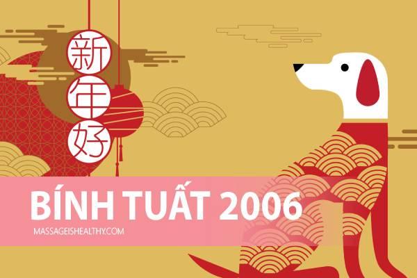 [Bính Tuất 2006] Sinh năm 2006 mệnh gì tuổi con gì hợp màu nào, sinh năm 2006 hợp số nào năm nay bao nhiêu tuổi?