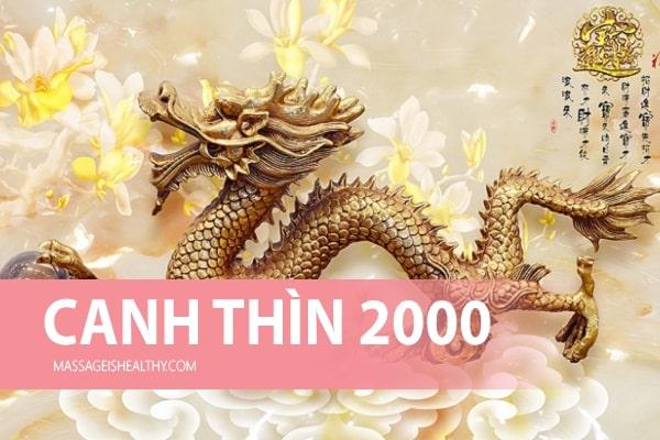 [Canh Thìn 2000] Sinh năm 2000 mệnh gì tuổi gì, hợp màu gì hợp với tuổi nào, năm nay bao nhiêu tuổi?