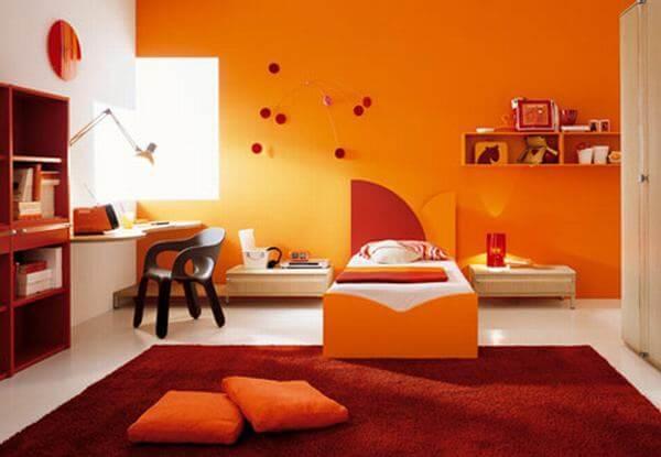 Mệnh Hỏa hợp màu gì: Màu cam
