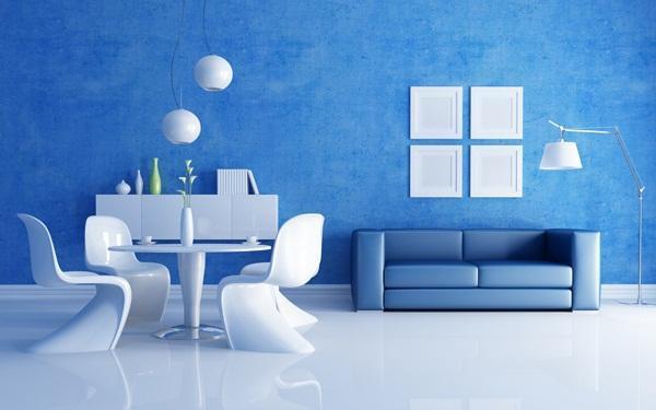 Màu xanh nước biển là màu bản mệnh của Thủy