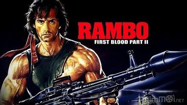 Seri Rambo - phim hành động Mỹ bắn súng hấp dẫn