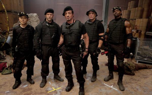 Seri phim The Expendables Biệt Đội Lính Đánh Thuê