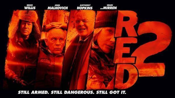 """Seri phim RED """"CIA tái xuất """""""