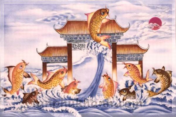Nằm mơ thấy cá chép hóa rồng: Nên đánh ngay con 58 - 85 nếu thấy giấc mơ này xuất hiện.