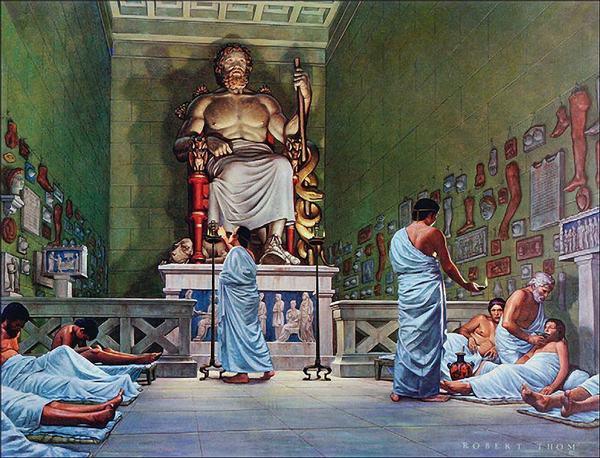 Vị thầy thuốc có năng lực giúp người chết sống lại tên là Asclepius (tức là cung Xà Phu hiện giờ)