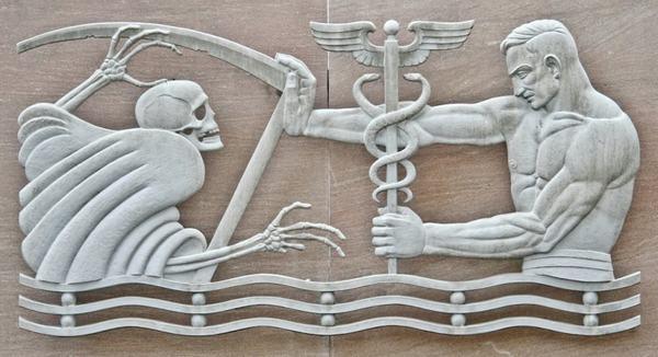 Cũng như theo thần thoại Hy Lạp, Xà Phu cũng chính là vị thần y Asclepius có thể cứu người sống lại
