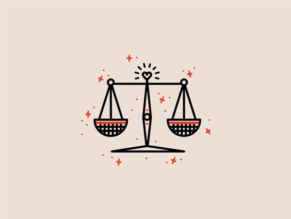 """Cung hoàng đạo Thiên Bình có biểu tượng là """"cái cân"""" - một vật được cho là lấy từ hình ảnh chiếc cân công lý"""