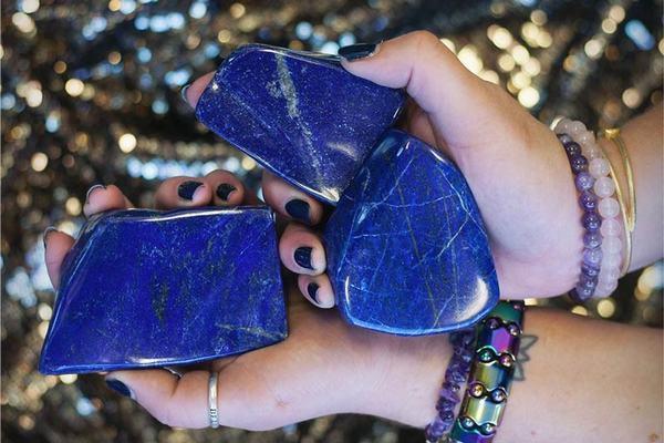 Đá Lapis Lazuli (xanh lam)