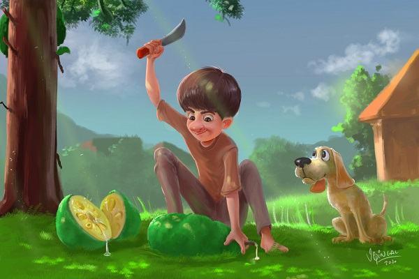 Nằm mơ thấy quả mít đánh con gì, báo hiệu điềm gì | Chiêm bao thấy cây mít nhiều trái, sai quả nặng trĩu trên cây