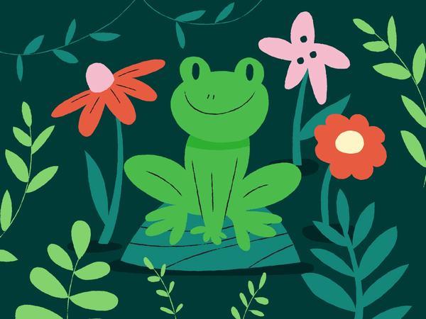 Nằm mơ thấy ếch ngồi kêu dưới ao