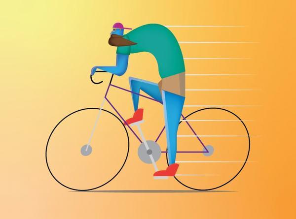Nằm mơ thấy bị ngã, bị té xe đạp