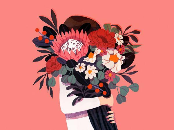 Bông hoa màu đỏ trong giấc mơ của bạn báo hiệu điều gì?