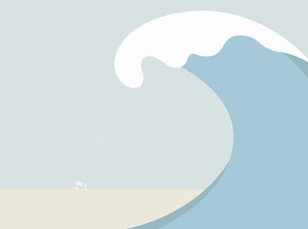 Mơ thấy sóng thần đánh con gì, số mấy?