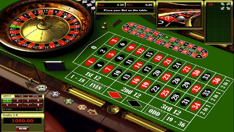 Thử sức với trò chơi Roulette
